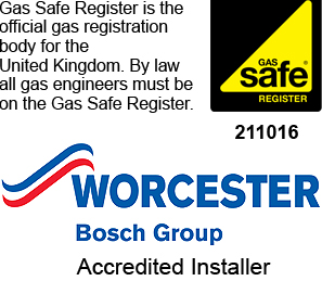 Worcester Boilers, Gas Safe Registered